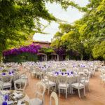 Casate al aire libre en Villa Bugatti